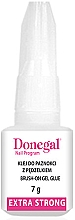 Düfte, Parfümerie und Kosmetik Gelkleber für künstliche Nägel mit Pinsel - Donegal Brush-On Gel Glue Extra Strong