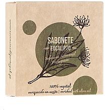 Düfte, Parfümerie und Kosmetik Naturseife Eukalyptus mit Glycerin und reinem Olivenöl - Essencias De Portugal Senses Eucalyptus Soap With Olive Oil