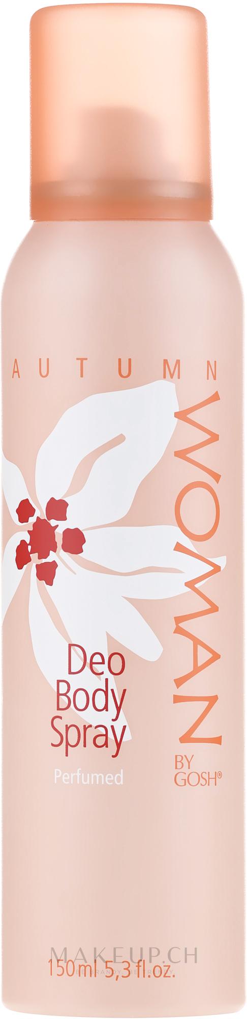 Deospray - Gosh Woman Autumn Deo Body Spray — Bild 150 ml