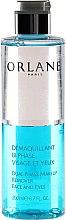 Düfte, Parfümerie und Kosmetik Zwei-Phasen Make-up Entferner - Orlane Dual-Phase Makeup Remover Face and Eyes