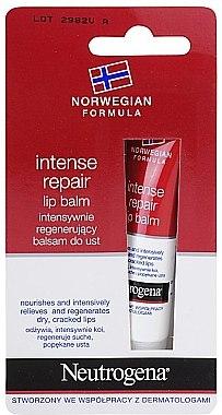Reparierender Lippenbalsam - Neutrogena Intense Repair Lip Balm