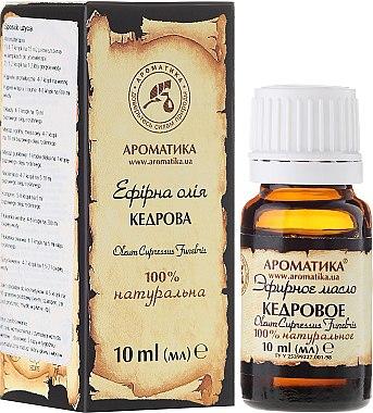 Ätherisches Öl Zedernholz - Aromatika