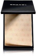 Düfte, Parfümerie und Kosmetik Mattierende Tücher - Chanel Papier Matifiant