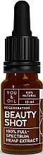 Düfte, Parfümerie und Kosmetik Gesichtsöl mit Hanfextrakt - You & Oil Beauty Shot Hemp Extract
