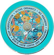 Düfte, Parfümerie und Kosmetik Tiefenreinigendes Körperpeeling mit Honig- und Sanddornextrakt - Natura Siberica