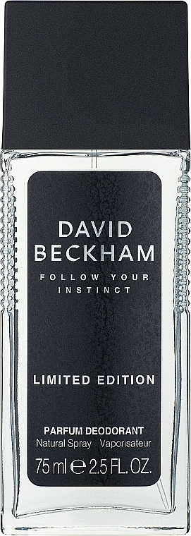 David Beckham Follow Your Instinct - Parfümiertes Körperspray