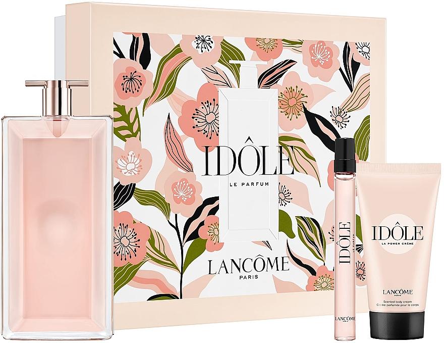 Lancome Idole - Duftset (Eau de Parfum 100ml + Eau de Parfum 10ml + Körpercreme 50ml)