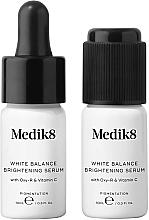 Düfte, Parfümerie und Kosmetik Aufhellendes Gesichtsserum mit Oxy-R und Vitamin C gegen Pigmentflecken - Medik8 White Balance Brightening Serum