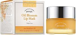 Düfte, Parfümerie und Kosmetik Lippenmaske mit Vitamin E und Sanddornöl - Petitfee&Koelf Oil Blossom Lip Mask