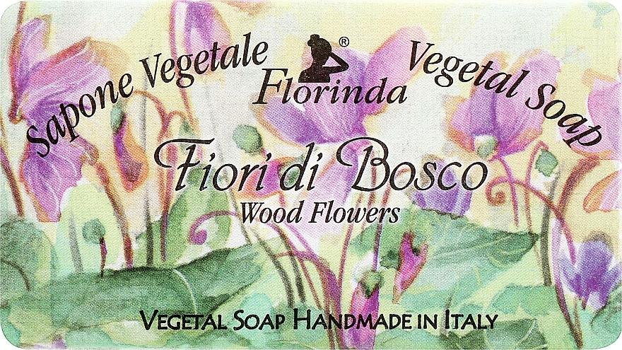Naturseife Wood Flowers - Florinda Sapone Vegetale Soap Wood Flowers