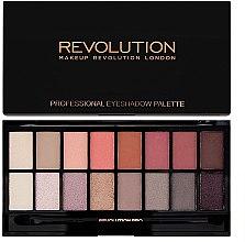 Düfte, Parfümerie und Kosmetik Lidschattenpalette mit 16 Farben - Makeup Revolution Profesional Eyeshadow Palette