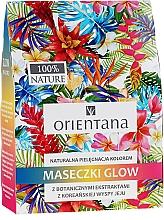 Düfte, Parfümerie und Kosmetik Gesichtspflegeset - Orientana Glow Natural Face Mask (Gesichtsmaske 3x30ml)