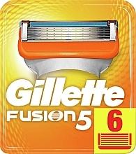 Düfte, Parfümerie und Kosmetik Ersatzklingen 6 St. - Gillette Fusion