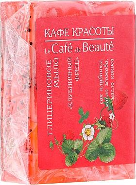 """Glyzerinseife """"Strawberry Fresh"""" - Le Cafe de Beaute Glycerin Soap"""