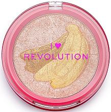 Düfte, Parfümerie und Kosmetik Highlighter - I Heart Revolution Fruity Highlighter Banana