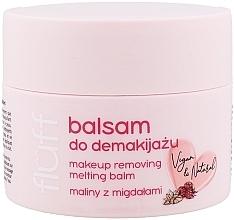 Düfte, Parfümerie und Kosmetik Natürlicher Gesichtsbalsam zum Abschminken mit Himbeere und Mandel - Fluff Makeup Removing Melting Balm