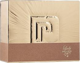 Düfte, Parfümerie und Kosmetik Paco Rabanne Lady Million - Duftset (Eau de Parfum 80ml + Körperlotion 100ml)