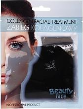 Düfte, Parfümerie und Kosmetik Kollagen-Therapie für das Gesicht mit Schokolade - Beauty Face Collagen Hydrogel Mask