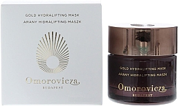 Düfte, Parfümerie und Kosmetik Straffende Anti-Aging Gesichtsmaske mit Rosenduft für beanspruchte, stumpfe und müde Haut - Omorovicza Gold Hydralifting Mask