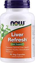 Düfte, Parfümerie und Kosmetik Suplement diety wspierający wątrobe - Now Foods Liver Refresh