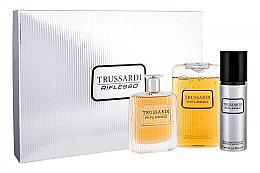 Düfte, Parfümerie und Kosmetik Trussardi Riflesso - Duftset (Eau de Toilette 100ml + Duschgel 200ml + Deospray 100ml)