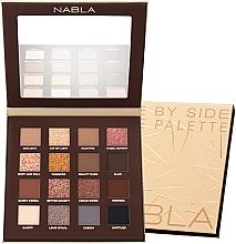 Düfte, Parfümerie und Kosmetik Lidschatten-Palette - Nabla Side By Side Nude Palette