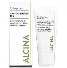 Düfte, Parfümerie und Kosmetik Feuchtigkeitsspendende Make-up Base - Alcina Fm Aha Fluid
