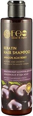 Keratin-Haarshampoo mit Acai-Beere - ECO Laboratorie Keratin Hair Shampoo Amazon Acai Berry