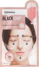 Düfte, Parfümerie und Kosmetik Detox Tuchmaske mit Akupressurpunkten - Mediheal Black Chip Circle Point Mask