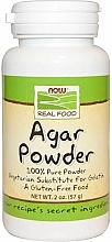 Düfte, Parfümerie und Kosmetik Nahrungsergänzungsmittel Agar in Pulverform - Now Foods Agar Powder
