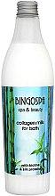 Düfte, Parfümerie und Kosmetik Bademilch mit Kollagen, Biotin und Seidenproteinen - BingoSpa Collagen Lotion With Silk Proteins Bath