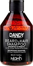 Düfte, Parfümerie und Kosmetik Bart- und Haarshampoo mit Argan- und Baobaböl - Niamh Hairconcept Dandy Beard & Hair Shampoo