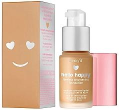 Düfte, Parfümerie und Kosmetik Benefit Hello Happy Flawless Brightening Foundation SPF 15 PA++ - Aufhellende Foundation für ein makelloses Finish (Mini)