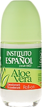 Düfte, Parfümerie und Kosmetik Deo Roll-on mit Aloe Vera - Instituto Espanol Aloe Vera Roll-on Deodorant