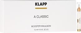 Düfte, Parfümerie und Kosmetik Gesichtsemulsion mit Vitamin A - Klapp A Classic Booster Emulsion