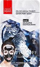 Düfte, Parfümerie und Kosmetik Peel-Off-Maske für das Gesicht mit Aktivkohle - Czyste Piekno Peel Off Mask