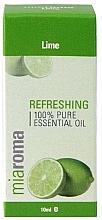 Düfte, Parfümerie und Kosmetik 100% Reines ätherisches Limettenöl - Holland & Barrett Miaroma Lime Pure Essential Oil