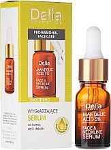 Düfte, Parfümerie und Kosmetik Serum für Gesicht, Hals und Nacken mit Mandelsäure - Delia Mandelic Acid 5% Active Face & Neckline Serum