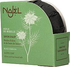 Düfte, Parfümerie und Kosmetik Natürliche Aleppo-Seife mit Schwarzkümmel - Najel Aleppo Soap Black Cumin Oil