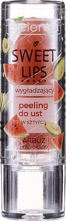 Glättendes Lippenpeeling Wassermelone und Avocado - Bielenda Sweet Lips Smoothing Lip Scrub