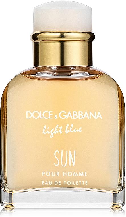 Dolce & Gabbana Light Blue Sun Pour Homme - Eau de Toilette