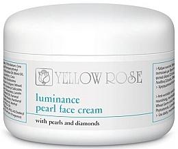 Düfte, Parfümerie und Kosmetik Perłowy krem do twarzy - Yellow Rose Luminance Pearl Face Cream