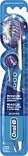 Düfte, Parfümerie und Kosmetik Zahnbürste mittel 3D White Pro-Flex Luxe blau-weiß - Oral-B Proflex 3D White Luxe 38 Medium