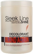 Düfte, Parfümerie und Kosmetik Aufhellender Haarpuder - Stapiz Sleek Line Repair & Shine Blond Action