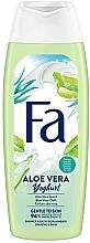 Düfte, Parfümerie und Kosmetik Intensiv pflegende Duschcreme mit Joghurt-Proteinen und Aloe Vera-Duft - Fa