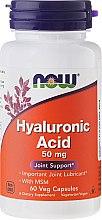 Düfte, Parfümerie und Kosmetik Nahrungsergänzungsmittel Hyaluronsäure 50 mg für gesunde Gelenke - Now Foods Hyaluronic Acid 50 mg