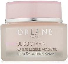 Düfte, Parfümerie und Kosmetik Beruhigende leichte Gesichtscreme - Orlane Oligo Vitamin Light Smoothing Cream