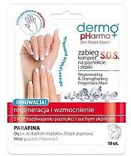 Düfte, Parfümerie und Kosmetik Regenerierenden Nagelkur - Dermo Pharma Skin Repair Expert S.O.S. Regenerating& Strengthening Fingernails Mask