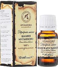 Düfte, Parfümerie und Kosmetik Ätherisches Öl Salvia Sclarea - Aromatika