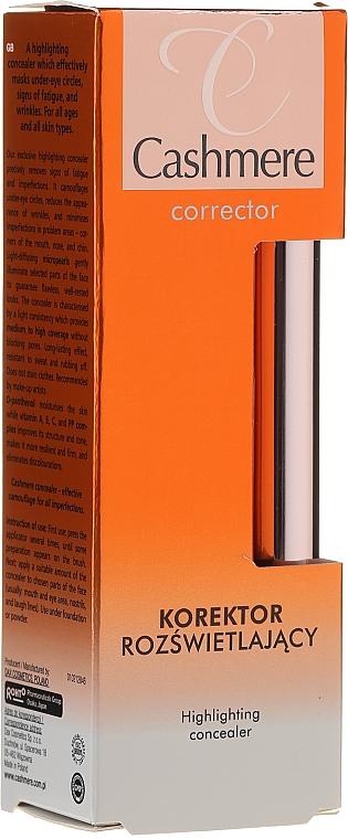 Aufchelender Concealer für das Gesicht - Dax Cashmere Corrector Highlighting Concealer